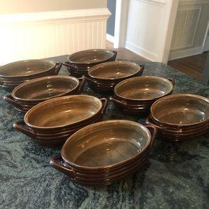 Crate & Barrel Soup Bowls Set of 8